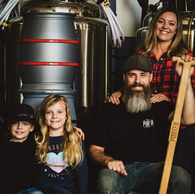 Avara and Deven Roberts of Porter Brewing Co.