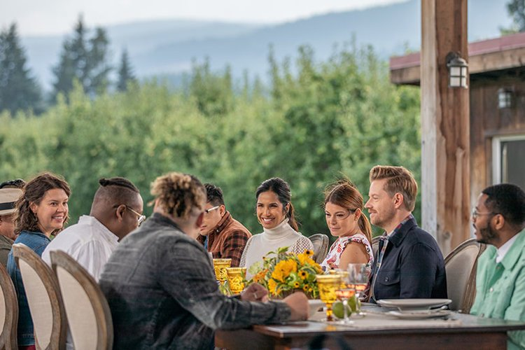 Judges from Top Chef Portland gather in Hood River to judge competitors dishes