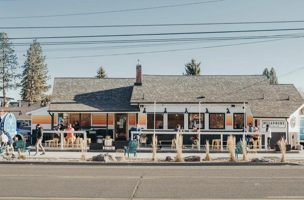 View of Boss Rambler Beer Club in Bend Oregon