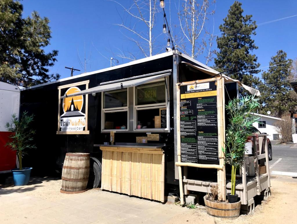Thailandia Food Cart at The Podski in Bend Oregon